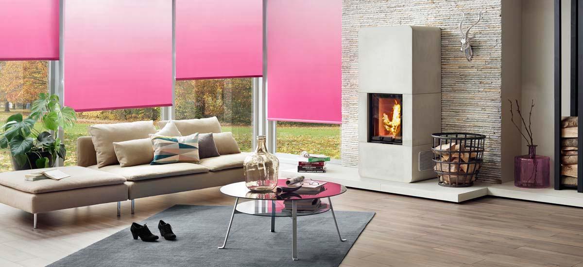 liedeco klemmfix rollo verdunklung mit thermobeschichtung inkl klemmtr ger deko. Black Bedroom Furniture Sets. Home Design Ideas